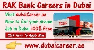 RAK Bank Careers in Dubai